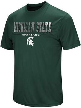 Colosseum Men's Campus Heritage Michigan State Spartans Embossed Tee