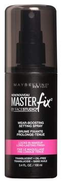 Maybelline® Facestudio® Master Fix Wear-Boosting Setting Spray Translucent 3.4 Fl Oz