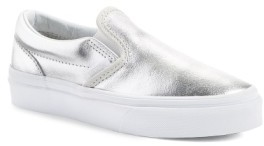 Vans Toddler Girl's 'Classic - Metallic' Slip-On