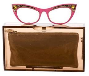 Charlotte Olympia Spectacles Pandora Clutch