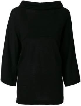 Alberta Ferretti draped top