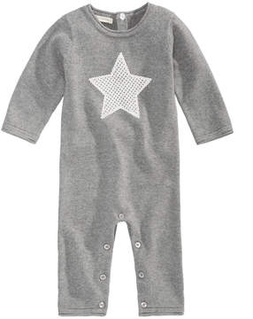 First Impressions Star Cotton Sweater Coverall, Baby Girls & Baby Boys (0-24 months), Created for Macy's