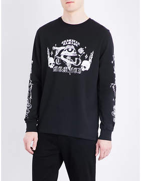 Criminal Damage Pyramid cotton-jersey sweatshirt