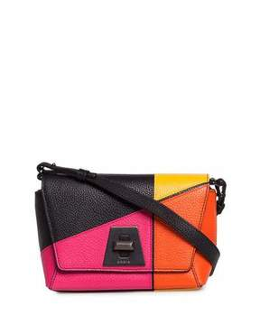 Akris Anouk Little Day Sunrise Patchwork Crossbody Bag