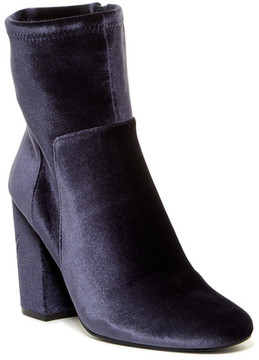 Nine West Corban Velvet Ankle Boot