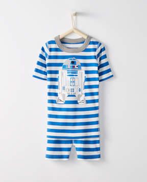 Hanna Andersson Star Wars Short John Pajamas In Organic Cotton