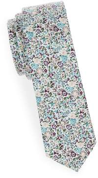 Joe's Jeans Collection Men's Floral Slim Cotton Tie
