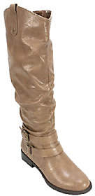 White Mountain Slouch Style Full-Zip Boots - Lioness