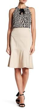 Ellen Tracy Flounce Hem Skirt
