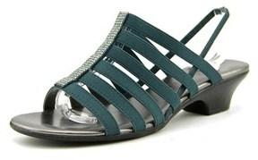 Karen Scott Stevee Open-toe Synthetic Slingback Sandal.