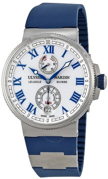 Ulysse Nardin Marine Chronometer White Dial Automatic Men's Watch 1183-126-3-40