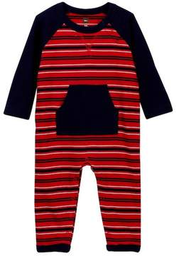 Tea Collection Taran Pocket Romper (Baby Boys)