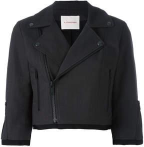 A.F.Vandevorst cropped biker jacket