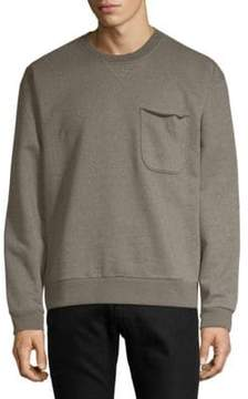 ATM Anthony Thomas Melillo Rib-Trimmed Sweatshirt