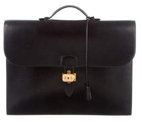 Hermes Box Sac A Depeches Briefcase