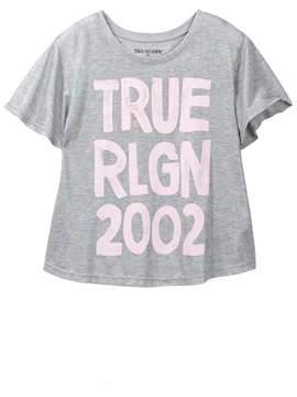 True Religion Irridescent Drape Tee (Big Girls)