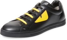 Fendi Men's Colorblocking Low Top Sneakers