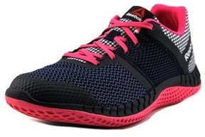 Reebok Zprint Run Ghm Youth Round Toe Synthetic Pink Sneakers.