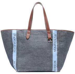J.W.Anderson Denim and leather tote