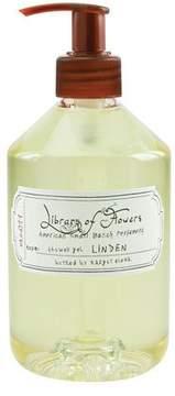 Library of Flowers Linden Shower Gel, 16 oz.