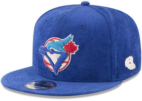 New Era Toronto Blue Jays All Cooperstown Corduroy 9FIFTY Snapback Cap