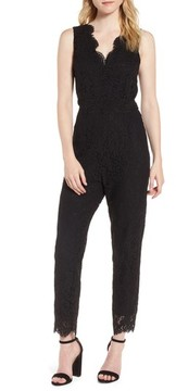 Cupcakes And Cashmere Women's Evita Lace Jumpsuit