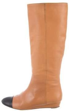 Loeffler Randall Cap-Toe Knee-High Boots