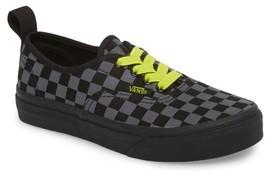 Vans Boy's Reflective Checkerboard Authentic Sneaker