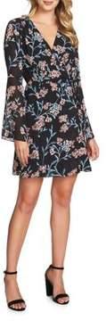 Cynthia Steffe Floral Wrap Dress