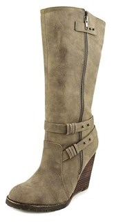 Very Volatile Kearney Women Round Toe Synthetic Knee High Boot.