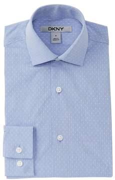 DKNY Dobby Dress Shirt (Big Boys)
