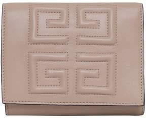 Givenchy Trifold Emblem Leather Wallet