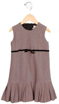 Helena Girls' Houndstooth Sleeveless Dress