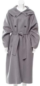 Bottega Veneta Cashmere Double-Breasted Coat