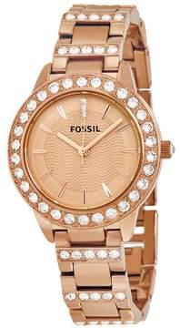 Fossil Women's ES3020 Jesse Stainless Steel Watch, 34mm