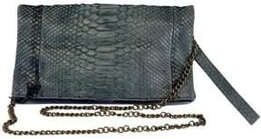 BA & SH Grey Python Crossbody Bag