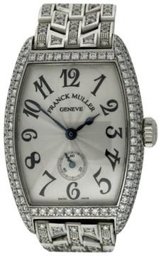 Franck Muller Cintree Curvex DG4434 18K White Gold Watch