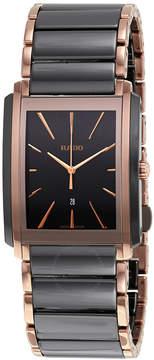 Rado Integral L Black Dial Black Ceramic Men's Watch