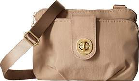 Baggallini Toronto Double Zip Crossbody