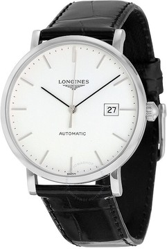 Longines Elegant Automatic White Dial Men's Watch L49104122
