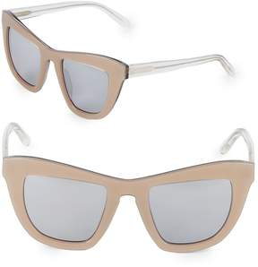 Vera Wang Women's 52MM Butterfly Sunglasses