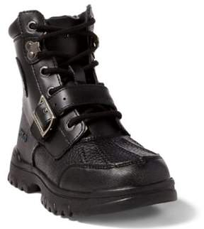 Ralph Lauren Colbey Boot Black/Burnished Leather 11