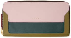 Marni Green Continental Wallet
