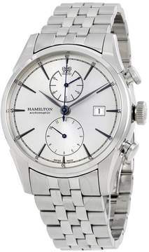 Hamilton American Classic Spirit Liberty Chronograph Silver Dial Stainless Steel Men's Watch