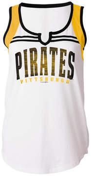 5th & Ocean Women's Pittsburgh Pirates V Notch Tank
