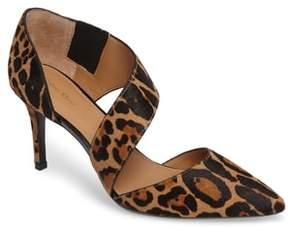 Women's Calvin Klein 'Gella' Pointy Toe Genuine Calf Hair Pump