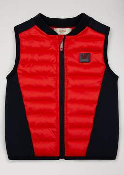 Armani Junior Padded Gilet With Inserts