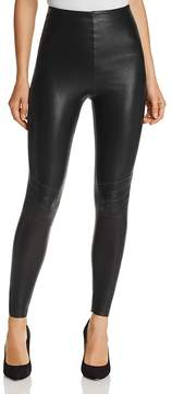 Commando Perfect Control Faux Leather Moto Leggings