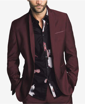 INC International Concepts Men's Slim-Fit Burgundy Blazer, Created for Macy's