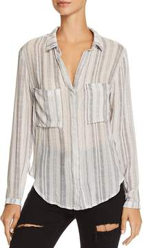 Bella Dahl Hipster Striped Button-Down Shirt